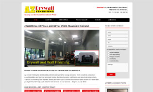 AZ Commercial Drywall Finishing in Chicago  Commercial and Residential Drywall Services in Chicago