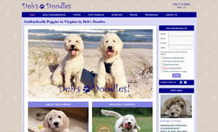 dog breeding website