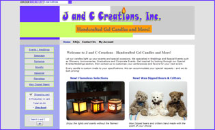 J and C Creations Website