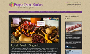 Purple Door Market in Hygiene Colorado  Cafe, Deli, Fresh Meats, Gifts and CBD Oil Products