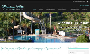 vacation home website